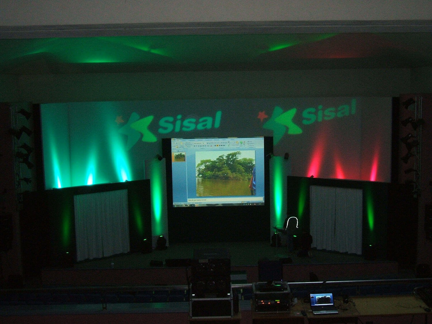 allestimento convention sisal