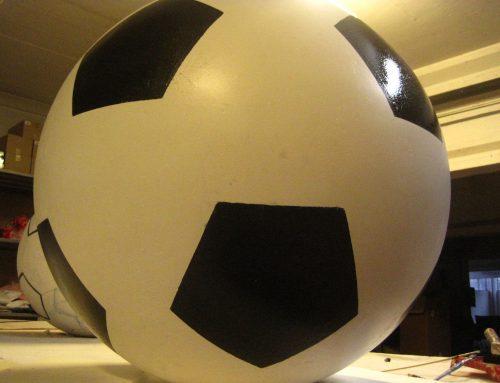 Mockup Pallone da Calcio 80cm