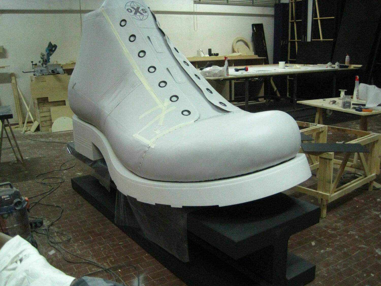 mockup scarpa oxs